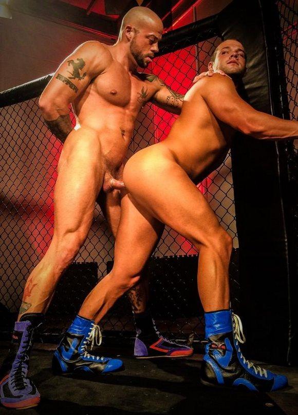 Порно боксёр