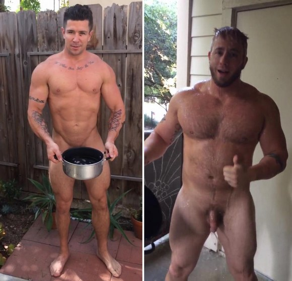 Als Gay Porn Stars - Trenton Ducati Aaron Bruiser ALS Ice Bucket Challenge Naked. Trenton Ducati  and Aaron Bruiser show other models how gay porn stars ...