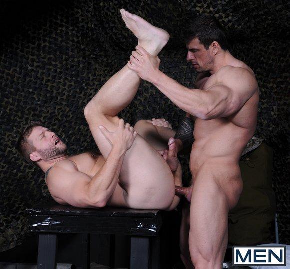 Muscular Colby Jansen Romantic Ass Fucking