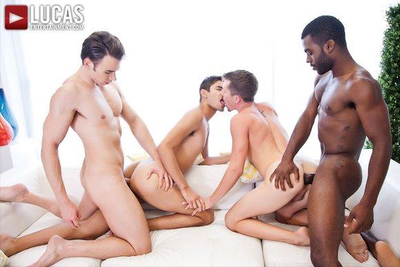 Addison Graham Shawn Andrews Taye Knight Andrew Markus Bareback Orgy