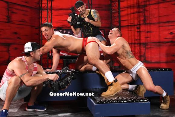Derek Atlas Johnny V Gay Porn bts