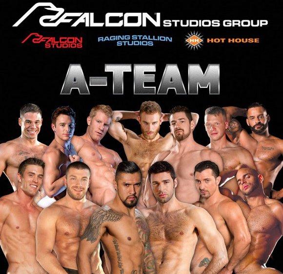 Falcon Studios Group A-Team Gay Porn Stars