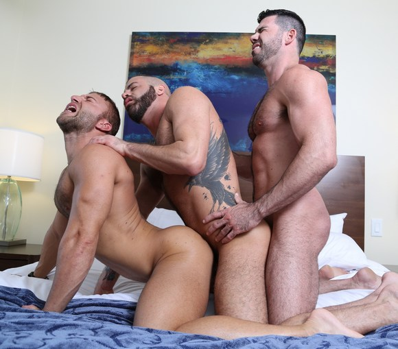 JR Bronson Billy Santoro Marcus Isaacs Gay Sex