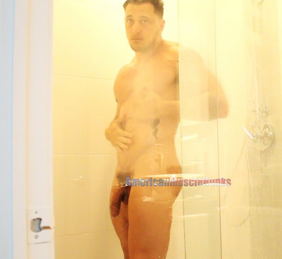 Joey D Bodybuilder Shower