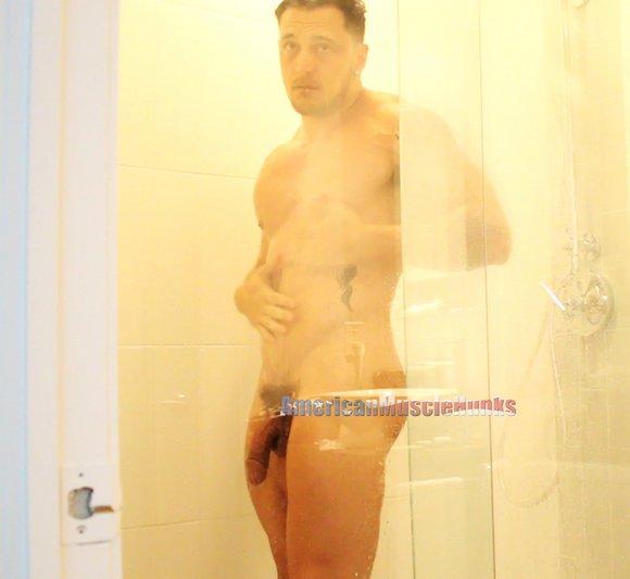 Joey D Bodybuilder Shower