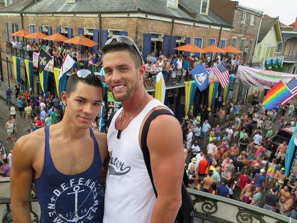 Ryan Rose Ethan Slade Cute Couple Southern Decadence
