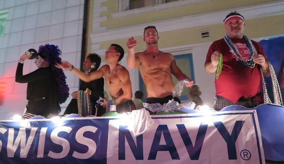 Ryan Rose Ethan Slade Sister Roma Southern Decadence Parade 1