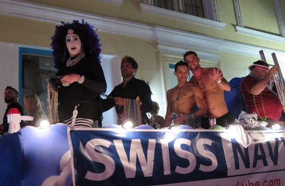 Ryan Rose Ethan Slade Sister Roma Southern Decadence Parade 2