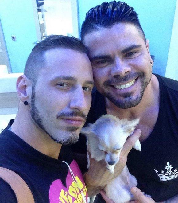 Antonio Miracle Mario Domenech Gay Porn Stars Just Married 1