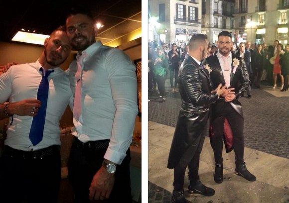 Antonio Miracle Mario Domenech Gay Porn Stars Just Married 2