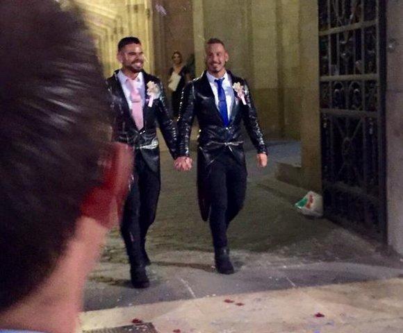 Antonio Miracle Mario Domenech Gay Porn Stars Just Married 3