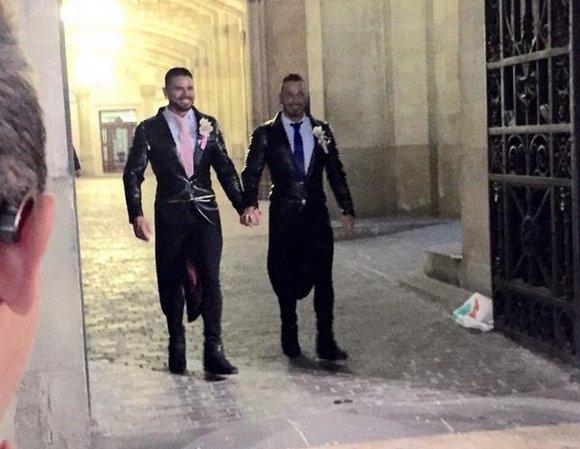 Antonio Miracle Mario Domenech Gay Porn Stars Just Married