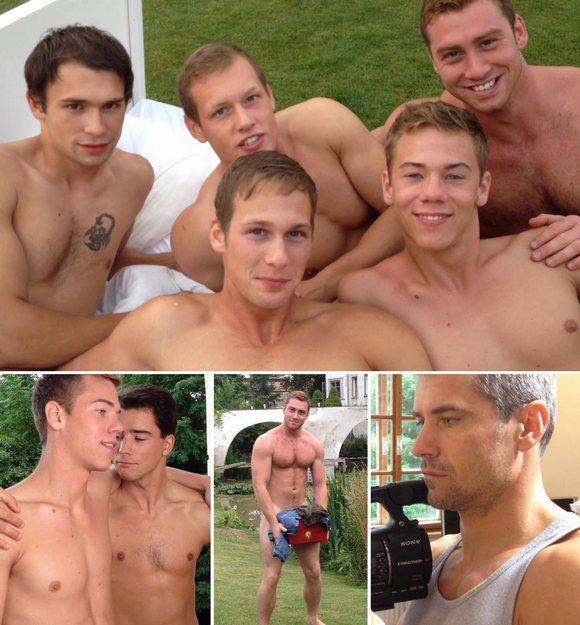 Gay Porn Behind The Scenes Dirty Rascals BelAmi Nakedsword