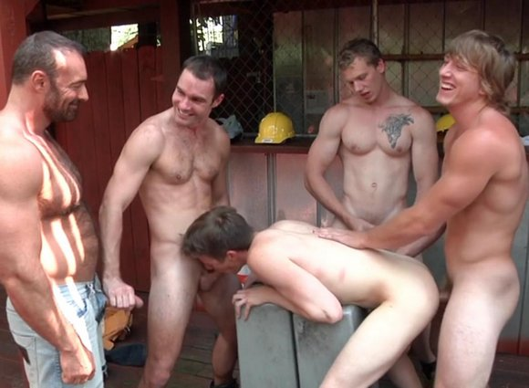 Gay Porn Mature Orgy