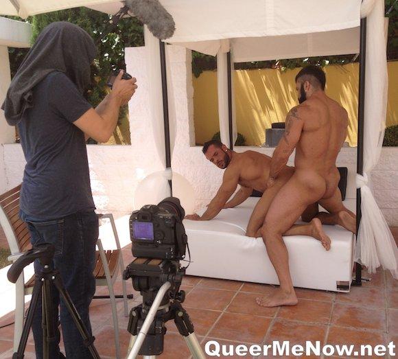 Rogan Richards Denis Vega Gay Porn Behind The Scenes