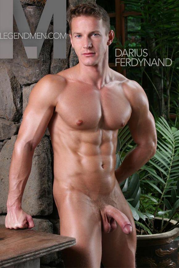 Hunky Pornstar Gets Naked