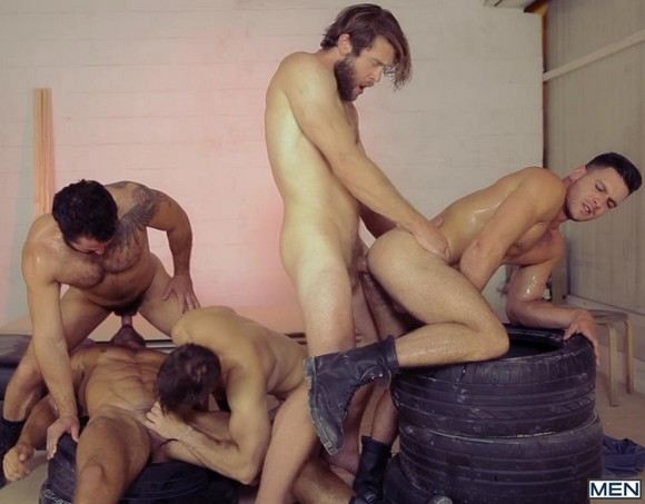 Paddy OBrian Jessy Ares Dato Foland Gabriel Clark Colby Keller