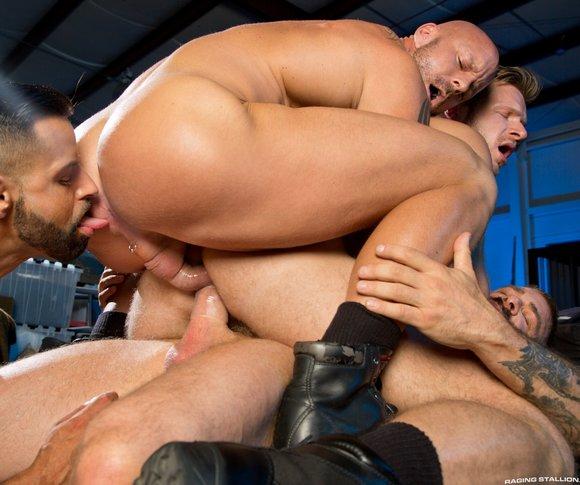 Big dick dp gay