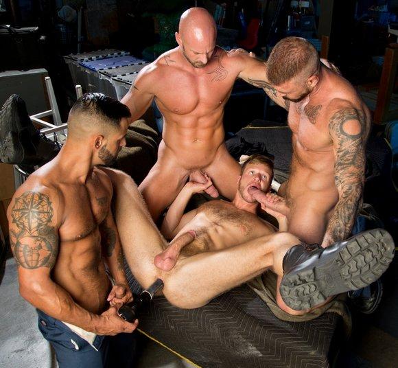 David Benjamin Brian Bonds Mitch Vaughn Rocco Steele Flashlight Sex Toy