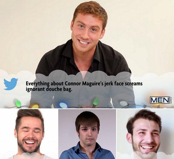 Gay Porn Stars Read Mean Tweets