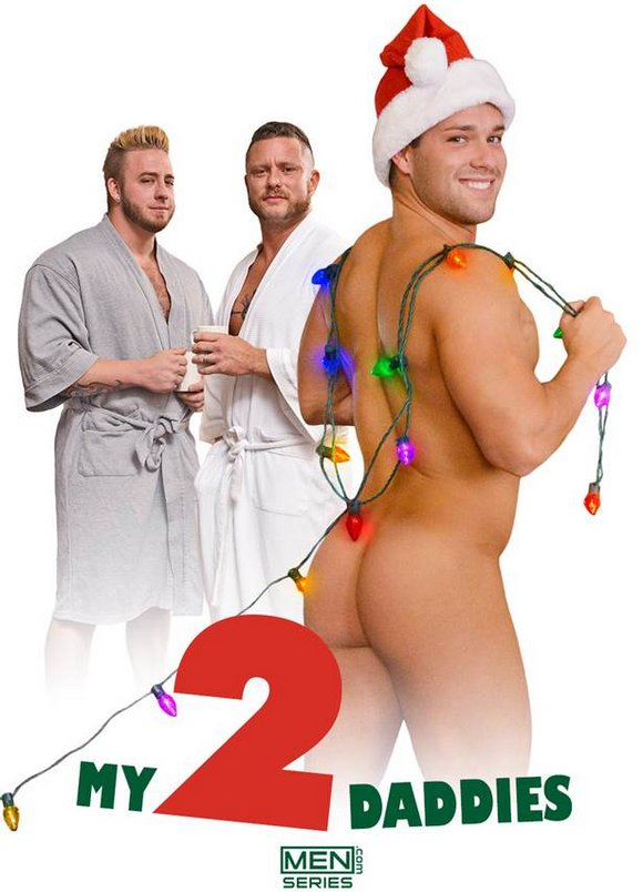 Luke Adams Aaron Bruiser Charlie Harding My 2 Daddies Gay Porn