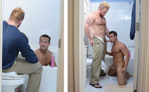 Homeless Porn Stars - Luke Adams Aaron Bruiser My2Daddies GayPorn 2
