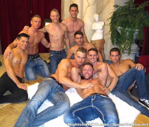 CorbinFisher 11 Anniversary Party Gay Porn Dawson Connor