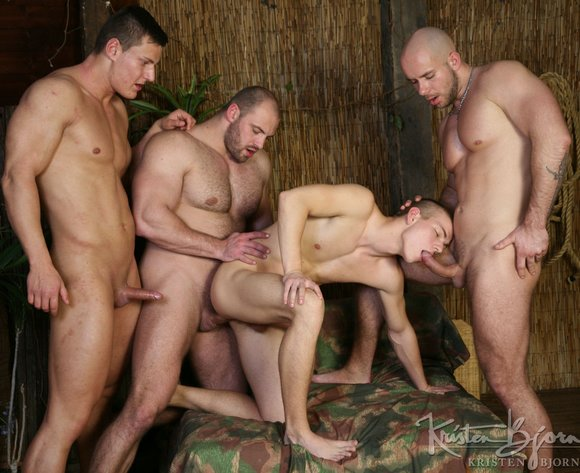 The watcher xxx orgy men