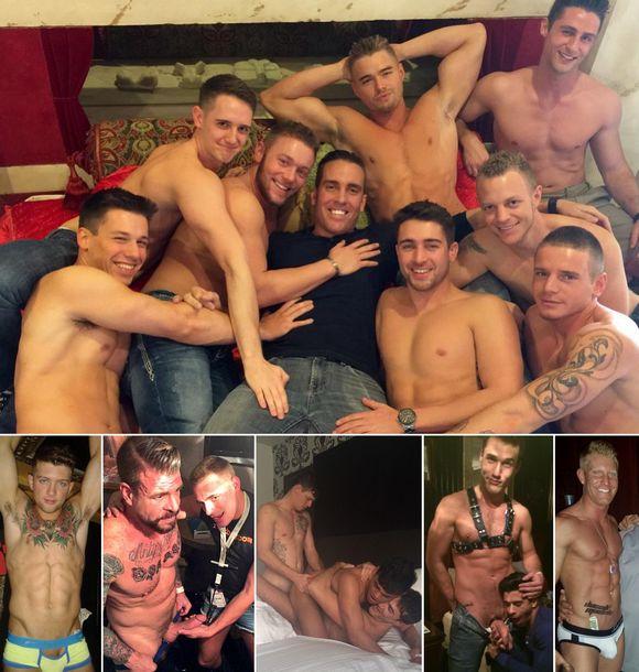 Gay Porn Stars Las Vegas HustlaBall CorbinFisher PreParty