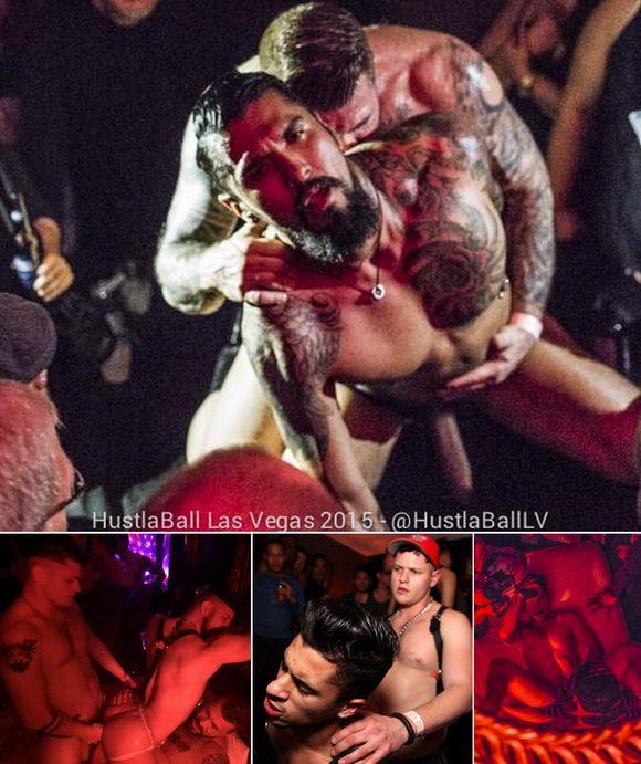 HustlaBall Las Vegas 2015 Gay Porn Stars Sex