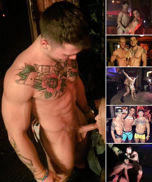 HustlaBall Vegas 2015 Gay Porn Sebastian Kross