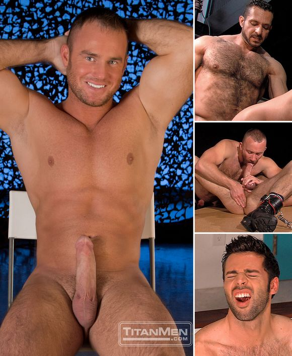 Kevin Lee Adam Champ Nick Prescott Dario Beck Gay Porn Stars TitanMen
