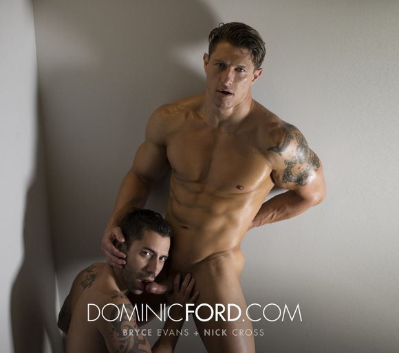 Bryce Evans Nick Cross DominicFord Gay Porn