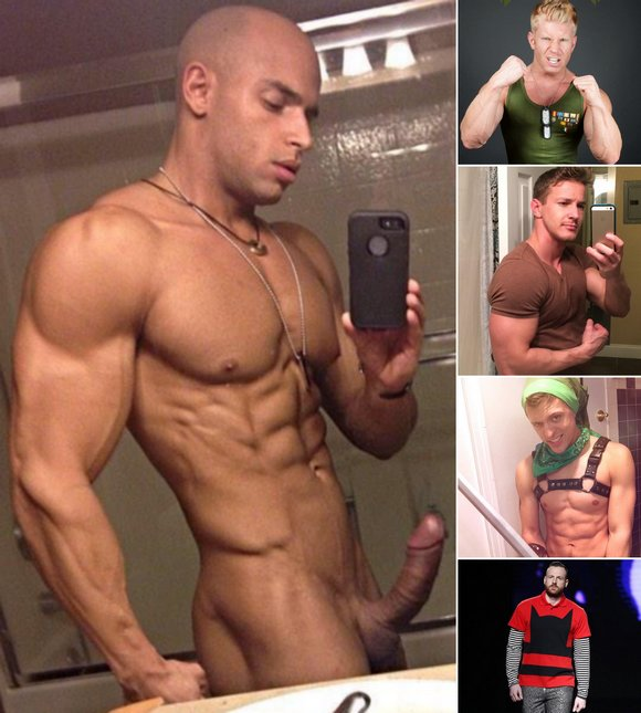 Gay Porn Stars Sean Zevran JohnnyV Darius Ferdynand Tyler Rush