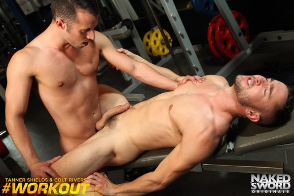 Colt Rivers Tanner Shields Gay Porn 7