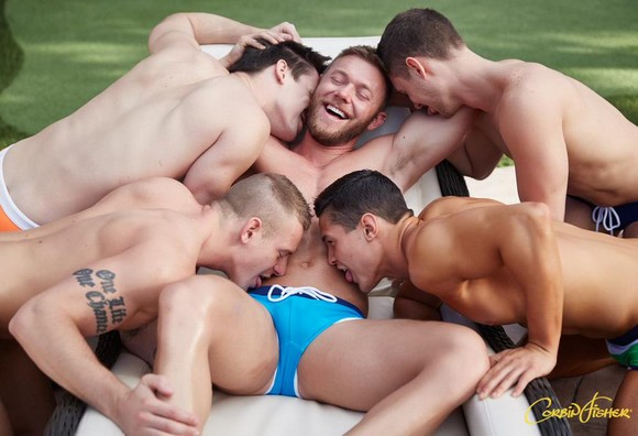 Dawson CorbinFisher Group Porn Models