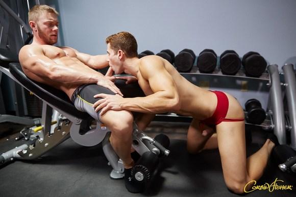 Dawson Quinn Gym Fuck Gay Porn CorbinFisher 2