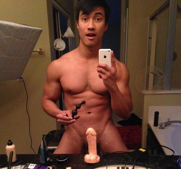 Asian gay dildo