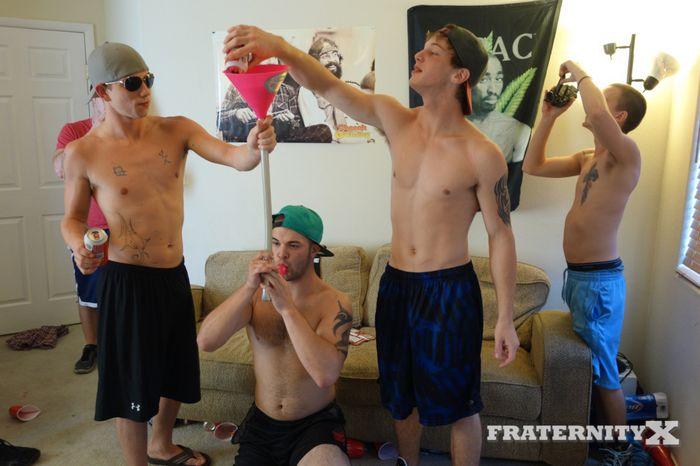 Bareback gangbang parties kinda