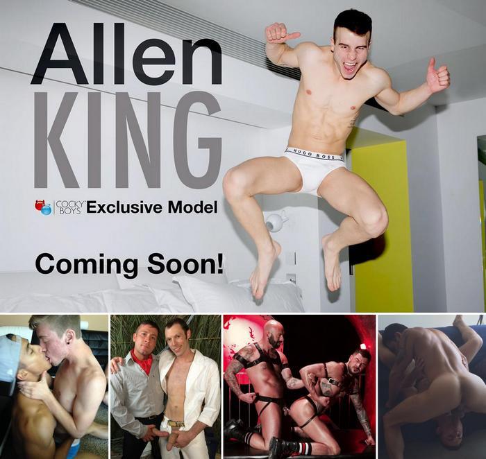 Gay Porn Allen King Ken Ott Trevor Knight Killian James Adam Ramzi