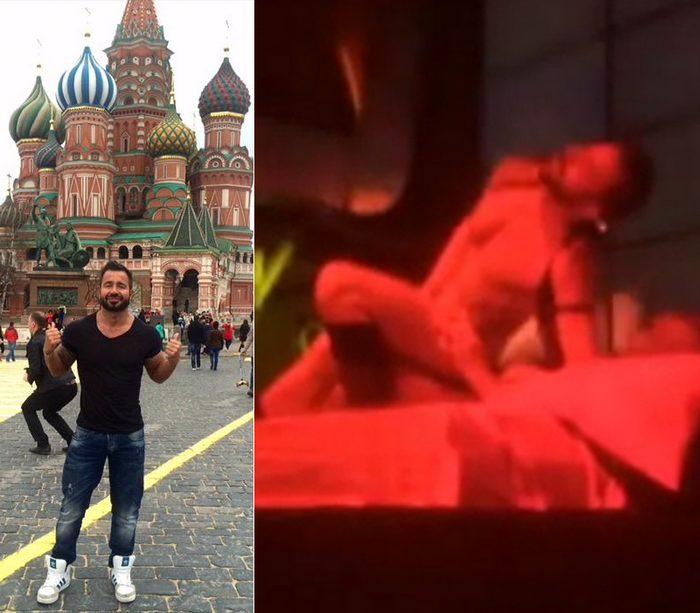 Martin Mazza Gay Sex Show Russia