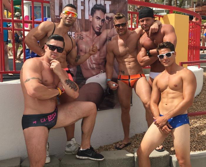 Trenton Ducati Arad Landon Conrad Angelo Marconi White Party Palm Springs 2015