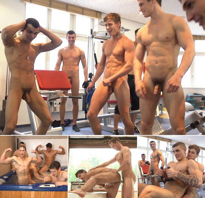 BelAmi Gym Gay Porn Star Naked
