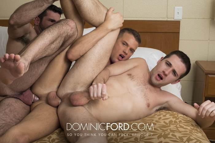 Billy Santoro Brandon Wilde Dylan Knight DominicFord Gay Porn