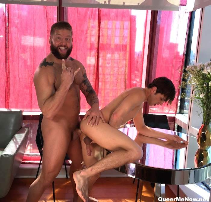 Colby Jansen Zac Stevens Gay Porn BTS