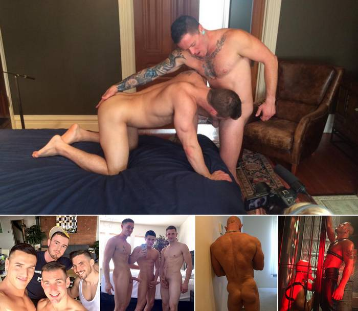 Gay Porn Killian James Max Cameron Theo Ford Chris Harder Sean Zevran
