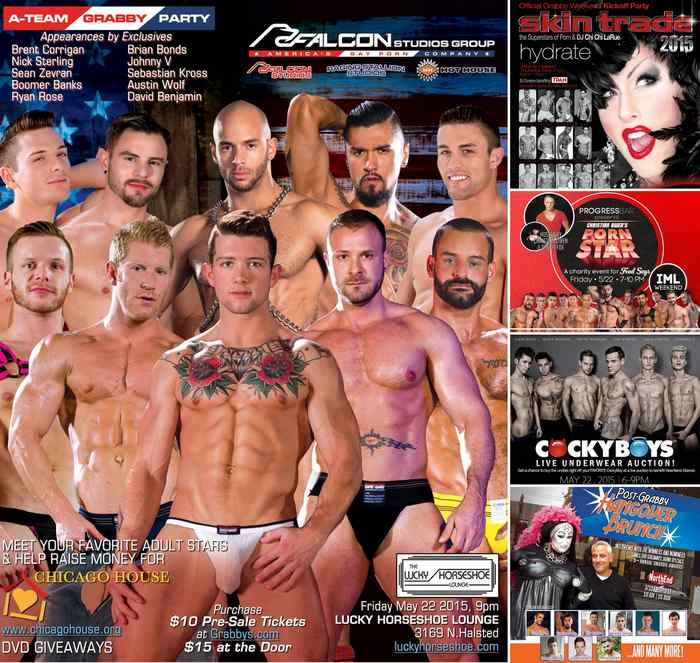 Gay Porn Stars Grabbys Party Events