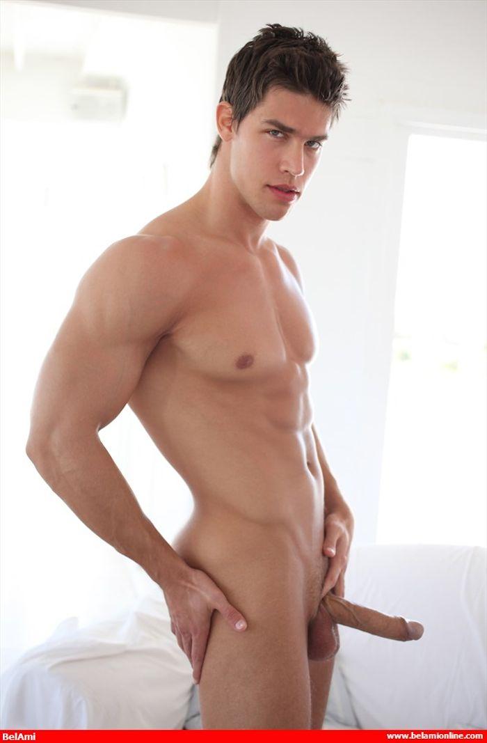 Kris Evans BelAmi Gay Porn Star Big Cock Hardon