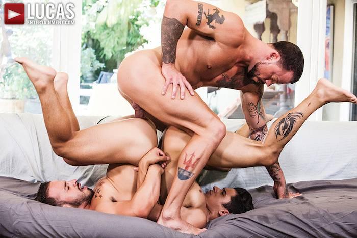 Sean Duran Rafael Lords Armond Rizzo Gay Porn Bareback