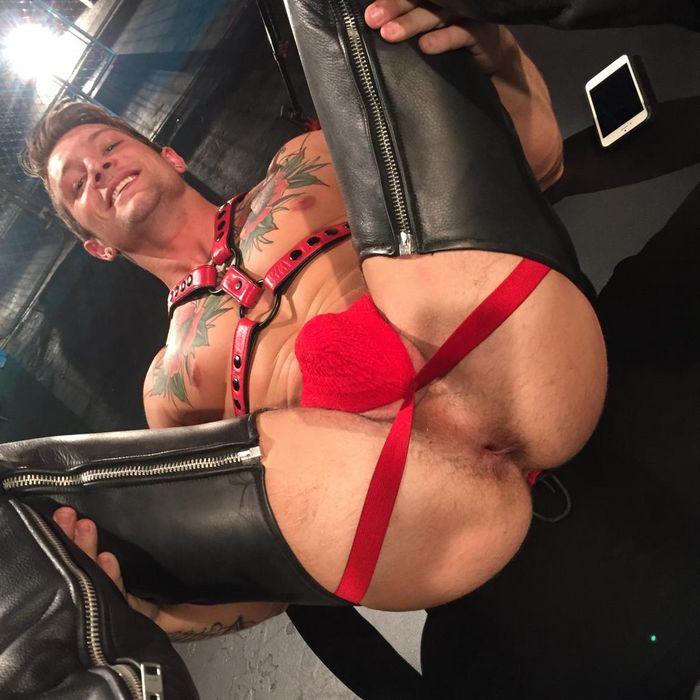 Sebastian Kross Gay Porn Star Butt Hole